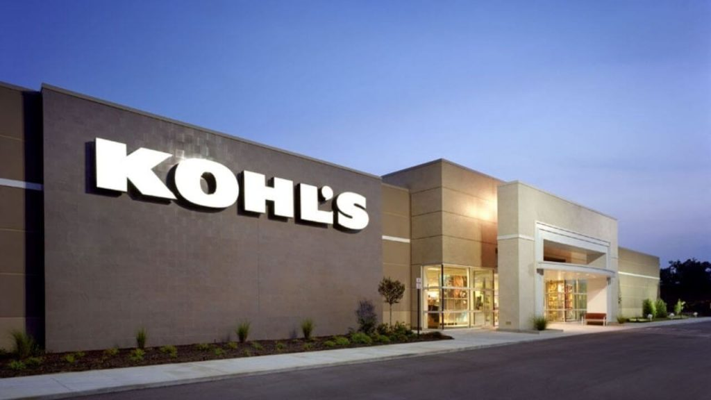 kohls return policy store front