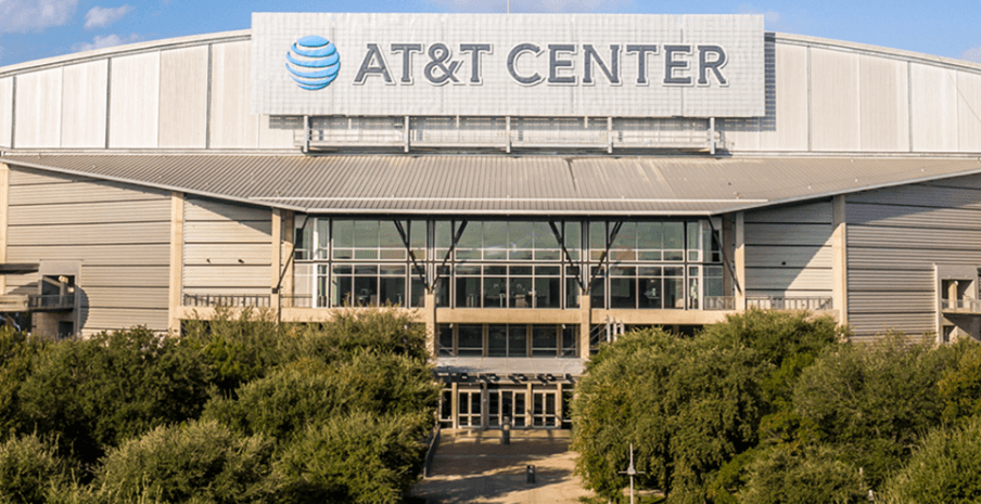 AT&T Center front