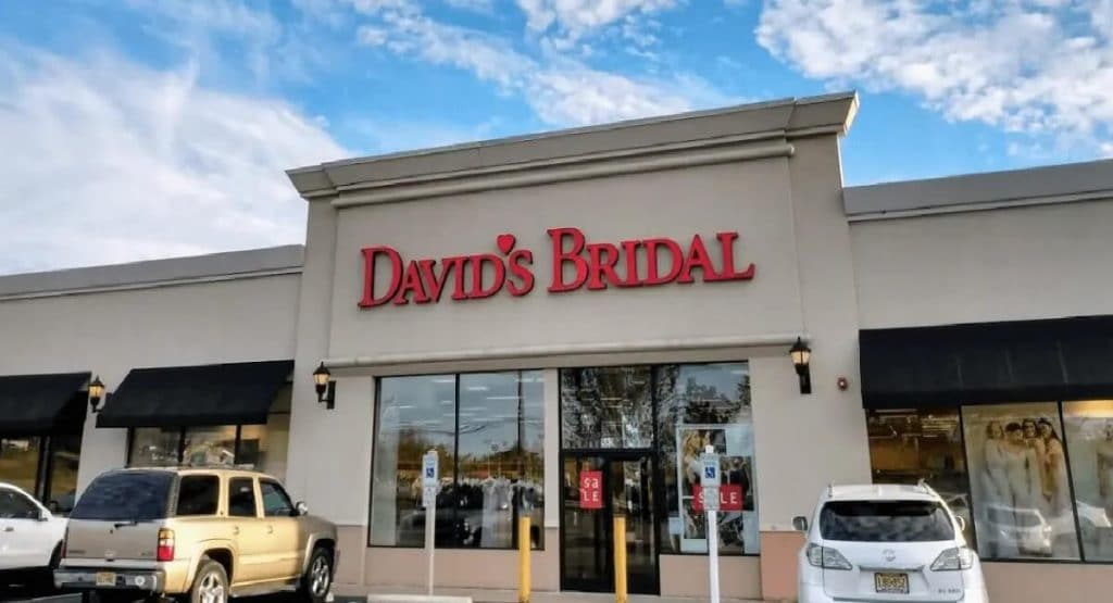 David's Bridal Store Front