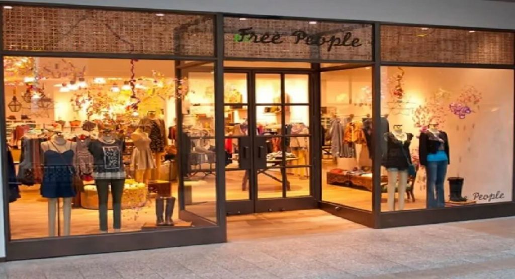 Free People Store Front