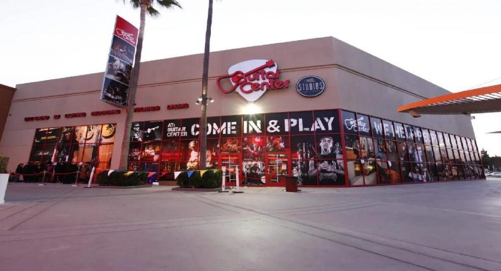 Guitar Center Shopping Complex