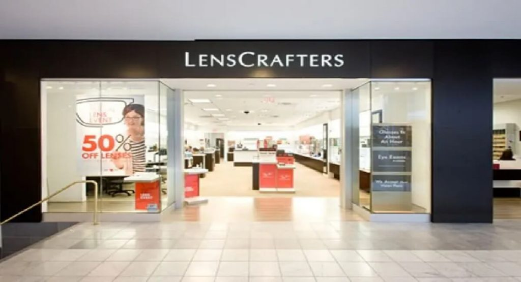 Lens Crafters Store Front