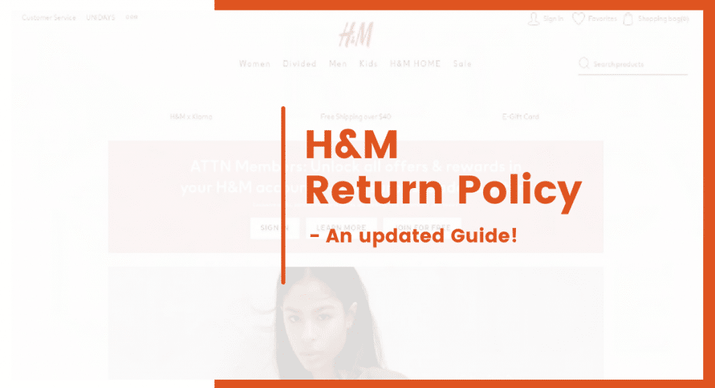 h&m return policy