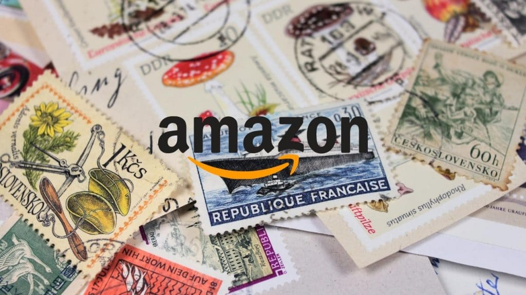 Amazon sell stamps