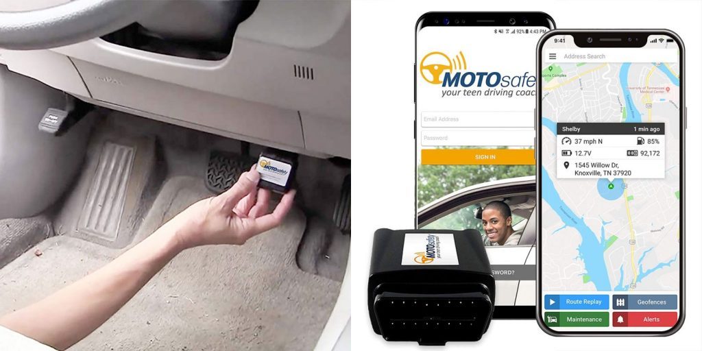 MOTOSafety GPS Tracker