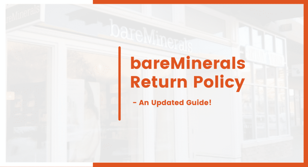 bareminerals return policy