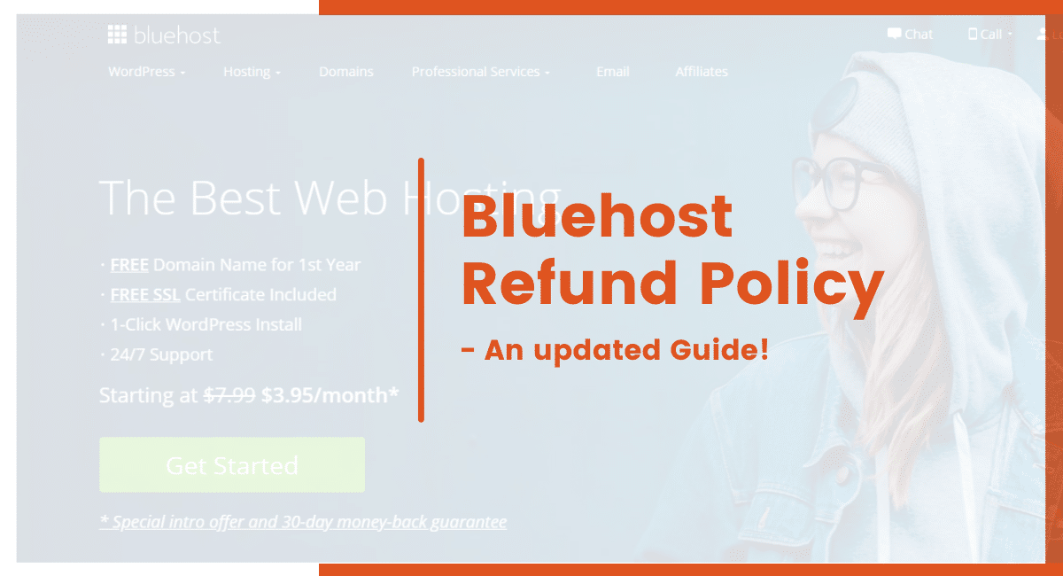 bluehost refund policy