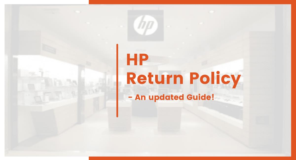 hp return policy