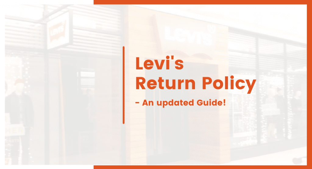 levis return policy