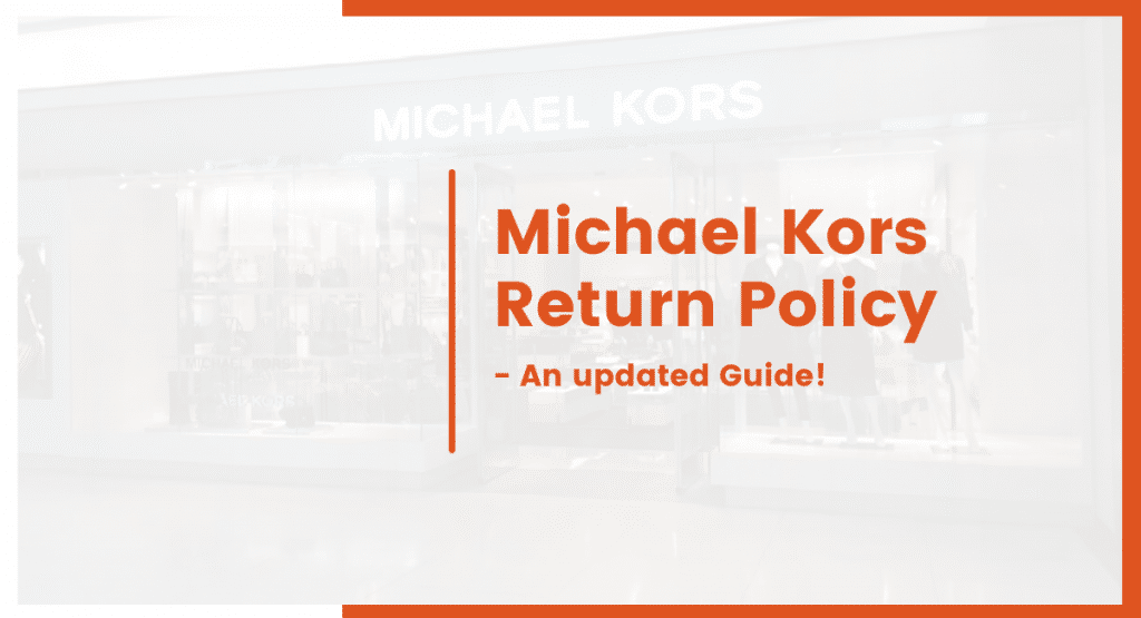 michael kors return policy