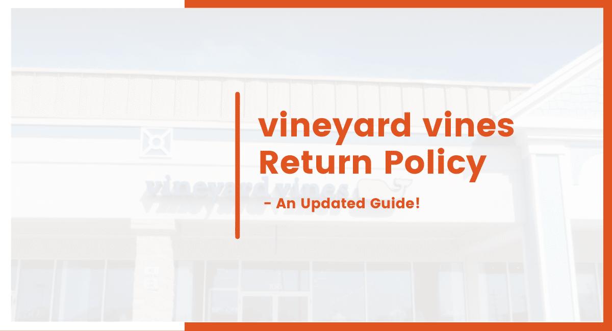 vineyard vines return policy