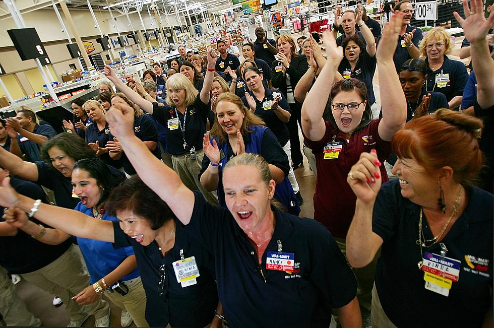 Walmart gives its employees reason to celebrate