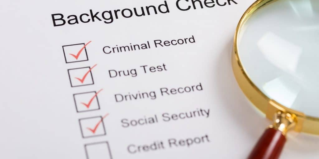 Background Check of Felons