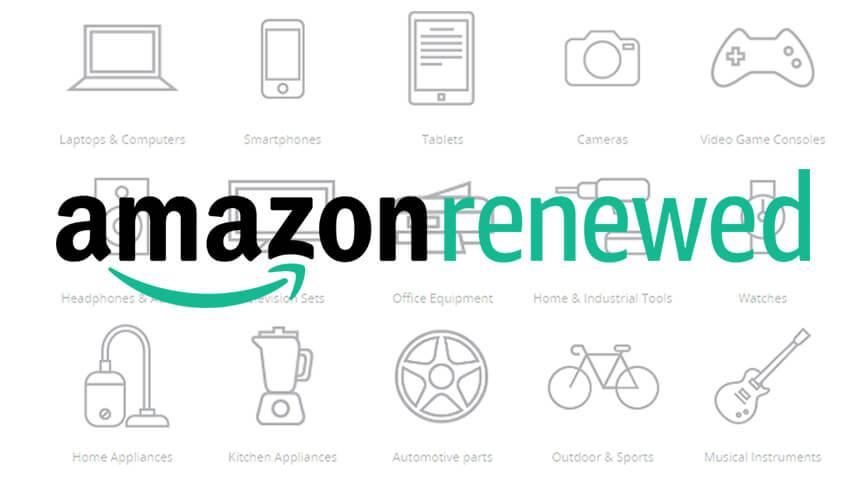Renewed items on Amazon