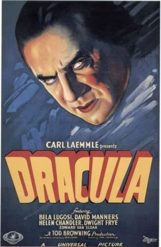 Dracula 1931 original movie poster