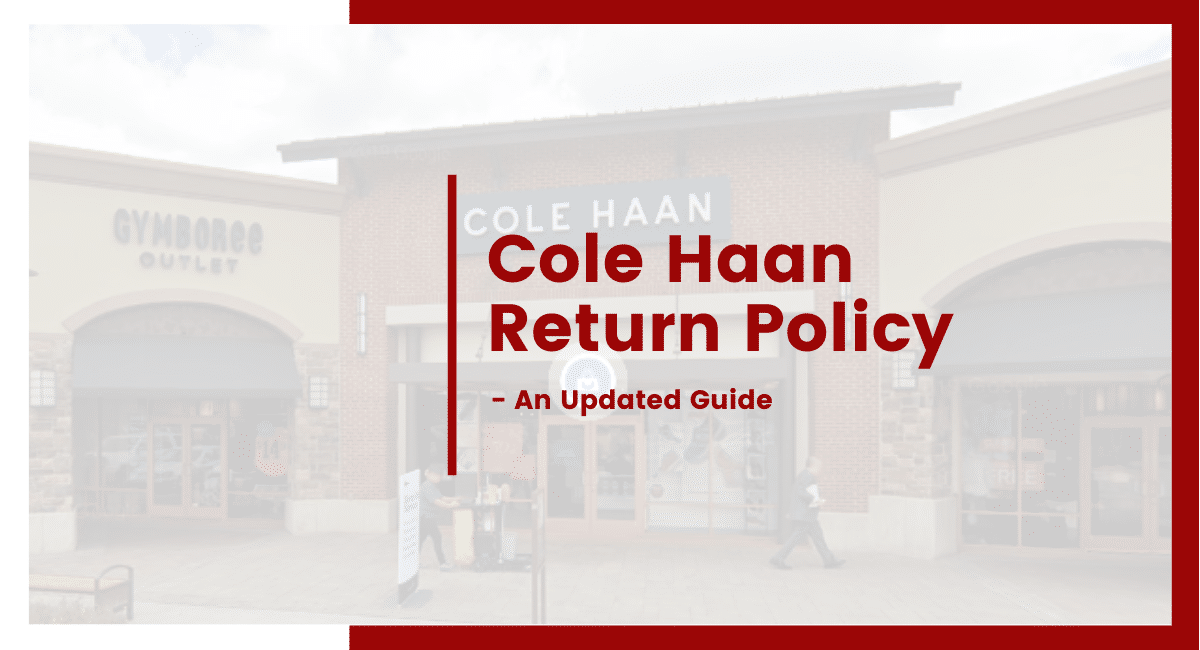 cole haan return policy