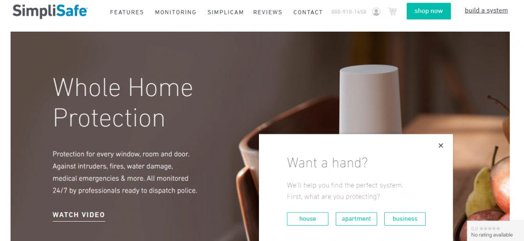 simplisafe website