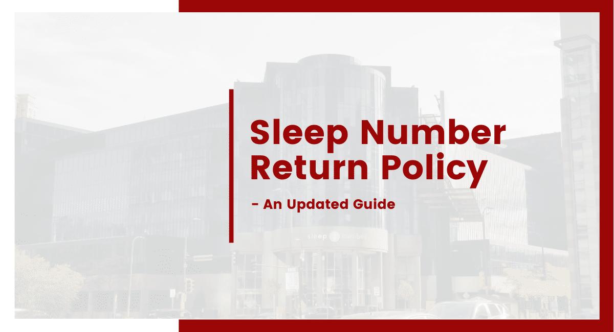 sleep number return policy
