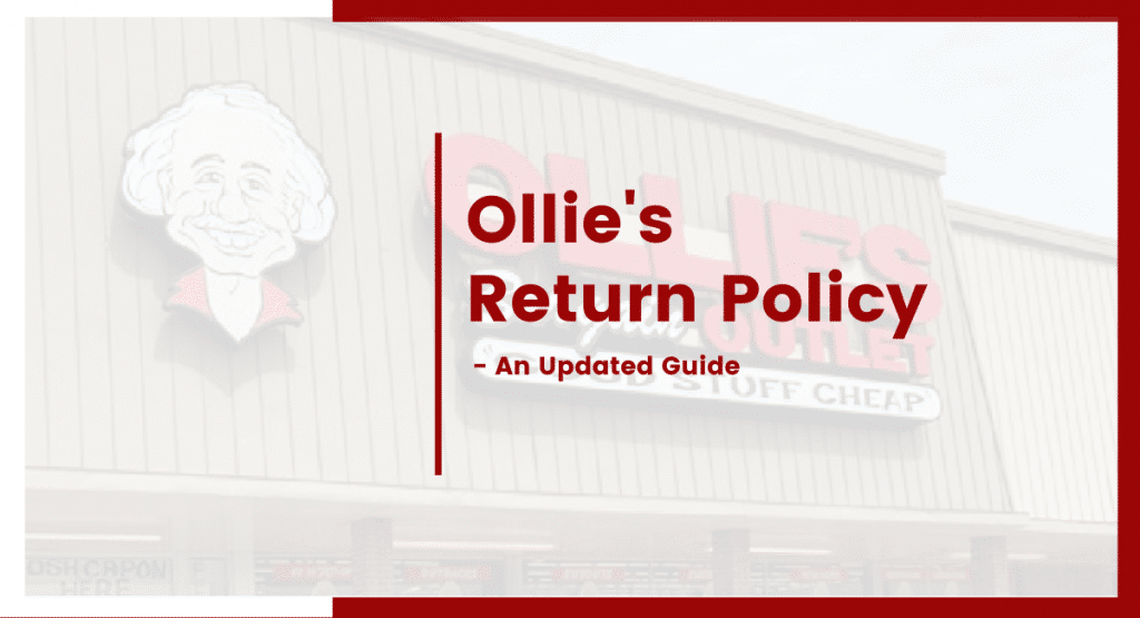 ollies return policy