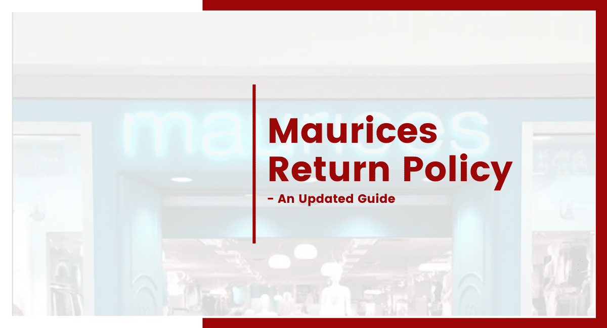 Maurices Return Policy