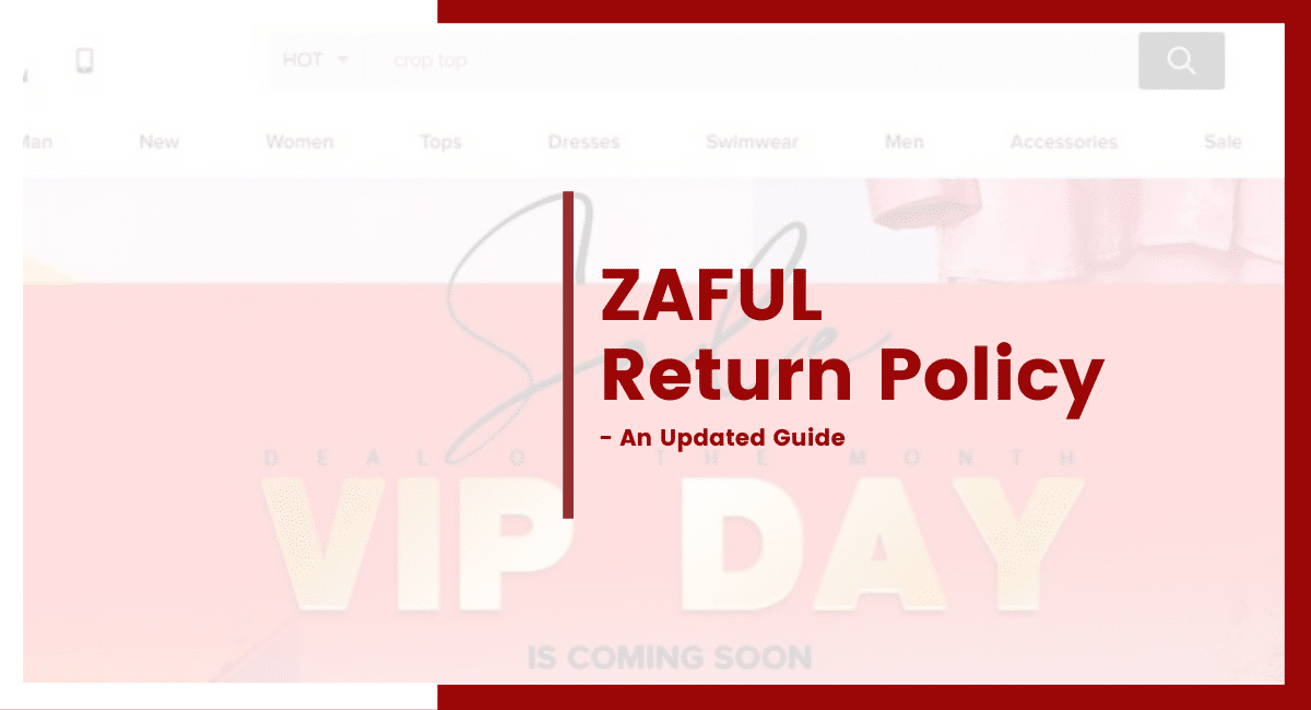 ZAFUL return policy